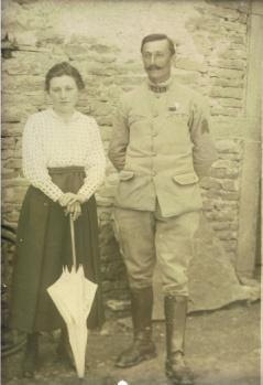 Georges-Emile ESTIVALET & son épouse Jeanne