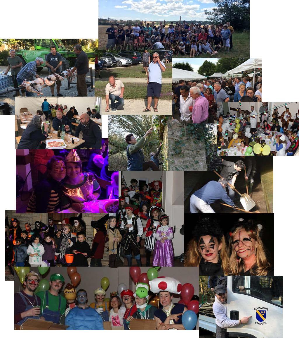 Vous avez été très nombreux à venir aux différents événements cette année avec votre bonne humeur et votre envie de faire vivre notre Village.